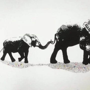 Elephant walk HF Rød