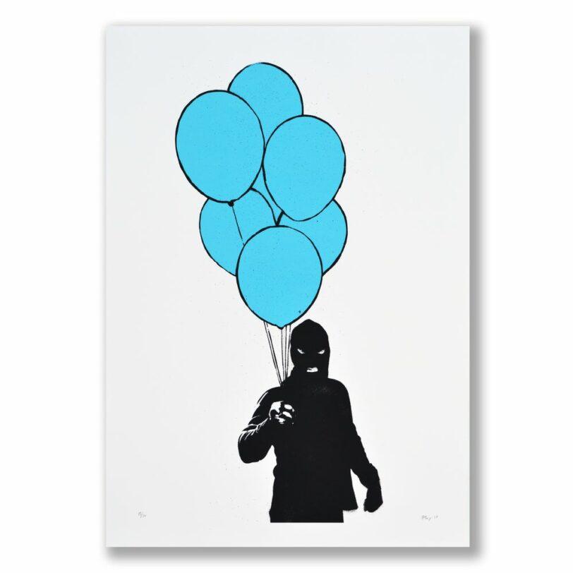 The Balloon Man (blue)