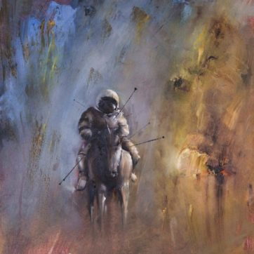 Spaceman Unicorn Study